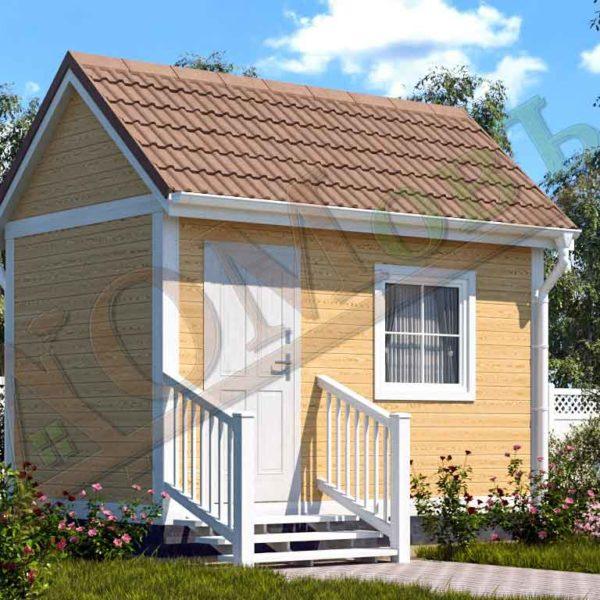 Каркасный дом 2,5x4