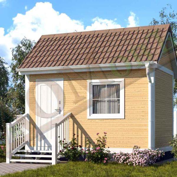 Каркасный дом 2,5x4 - ракурс 2