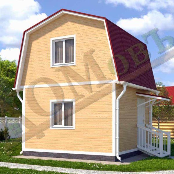 Каркасный дом 4x4