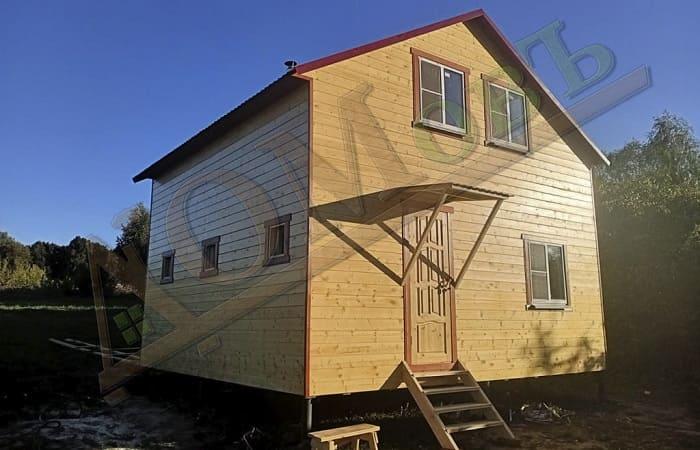 Дом баня 6 на 6 метров