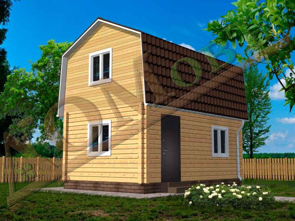 Дом из бруса 4x6