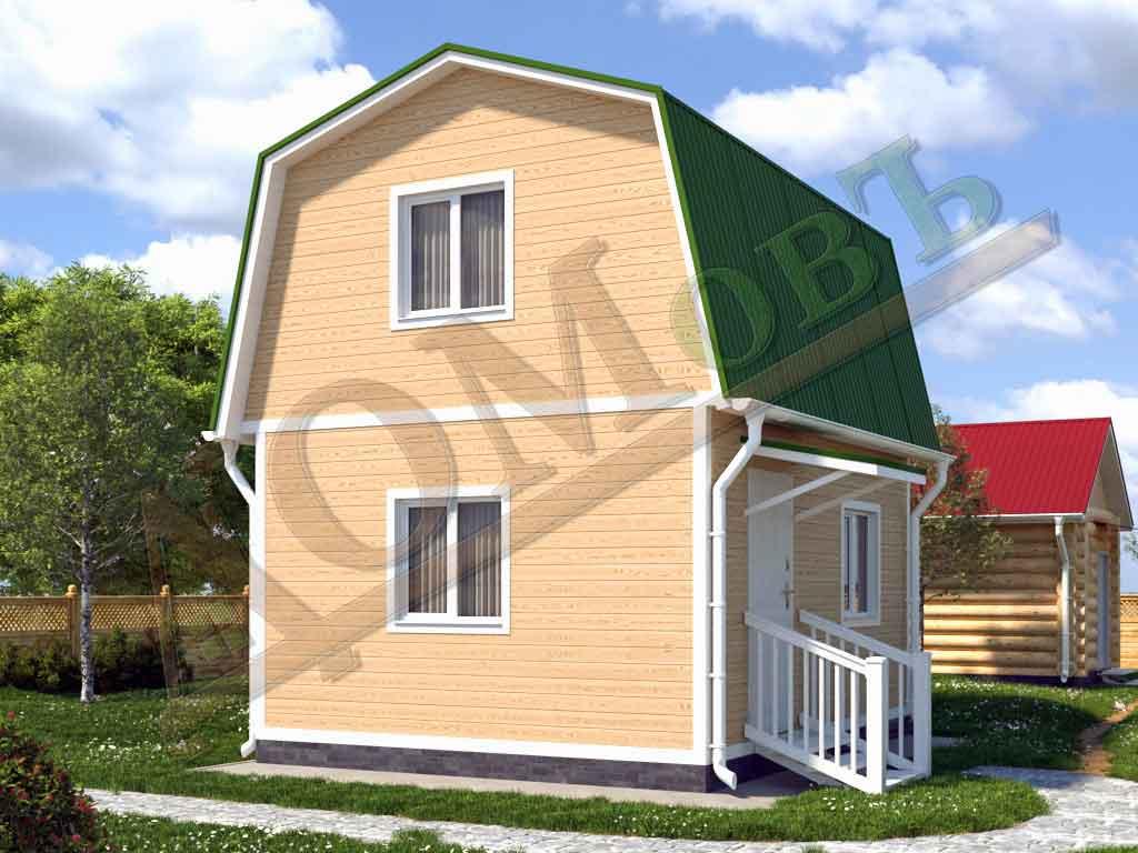 Каркасный дом 4х5