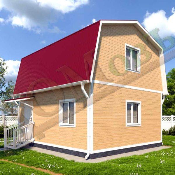 Каркасный дом 5х6