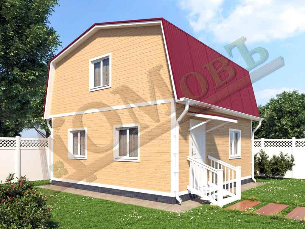 Каркасный дом 6x6