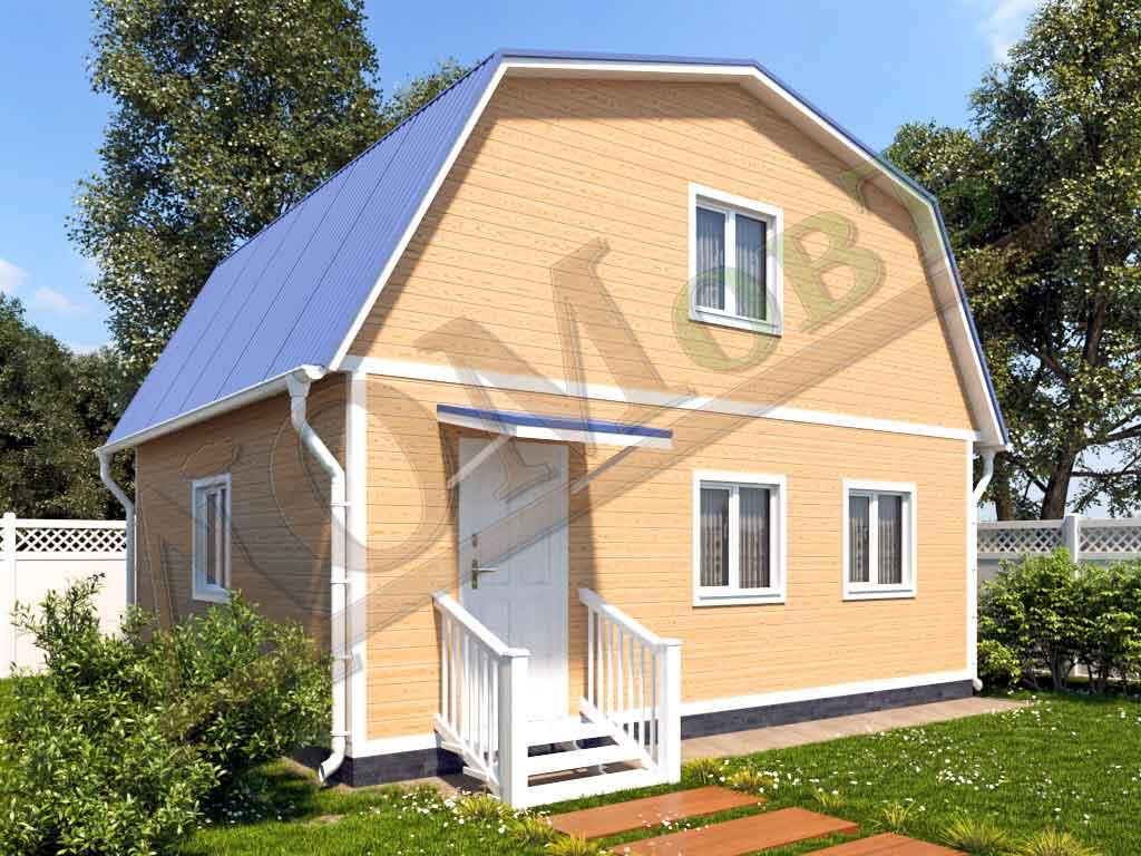 Каркасный дом 7x6