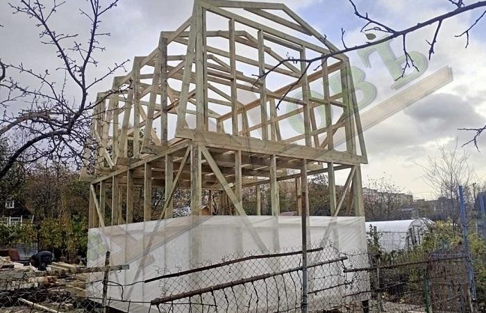 сколько стоит деревянный дом баня в 2021 году